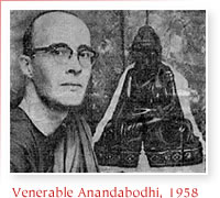 Venerable Anandabodhi