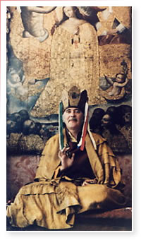 Namgyal Rinpoche in Assissi