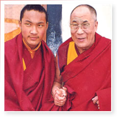 17th Karmapa, Urgyen Thinley Dorje and H.H. the Dalai Lama